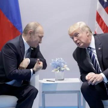 Image: Vladimir Putin and Donald Trump