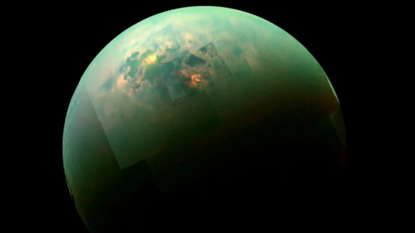 You Can Forget about Surfing on Saturn's Moon Titan. Here ...