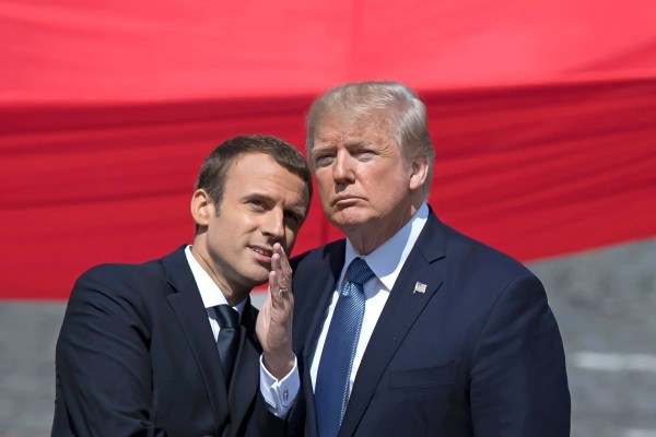 France's Macron Says His Charm Offensive May Soften Trump ...