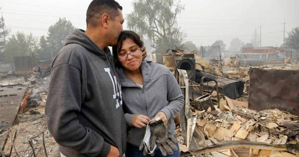 Fire Weather to Persist as Crews Battle Deadly California ...