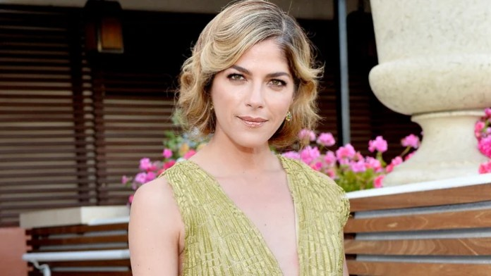 Selma Blair in West Hollywood, California on May 9.
