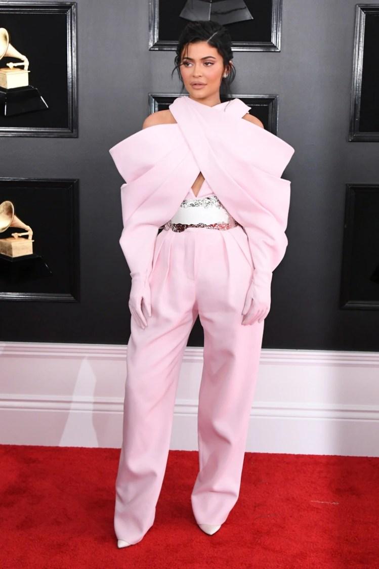 Image: Kylie Jenner at Grammys 2019