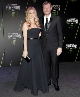 IMAGE: Amy Reimann and Dale Earnhardt Jr.