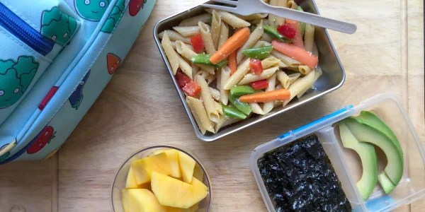 Kid-Friendly Rainbow Pasta Salad