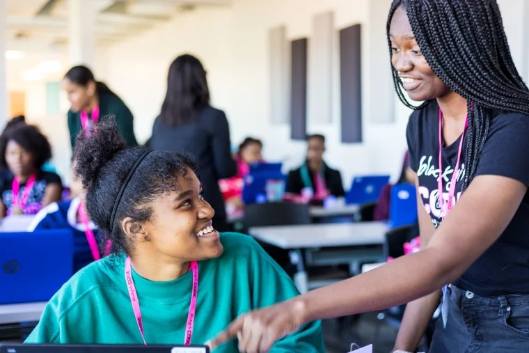 The Black Girls Code curriculum teaches everything from web development to robotics to Artificial Intelligence