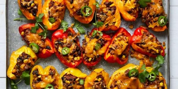 Joy Bauer's Loaded Bell Pepper 'Nachos'