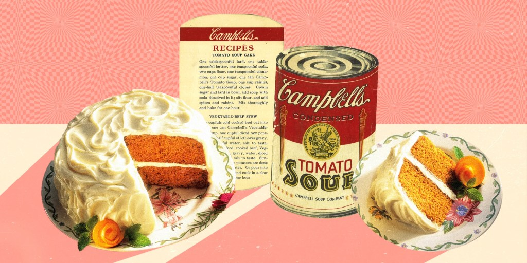 This was the first recipe ever to be distributed on a Campbell's can.