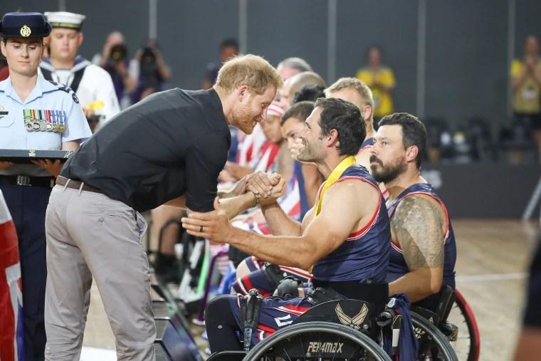 Prince Harry at Invictus Games Sydney 2018