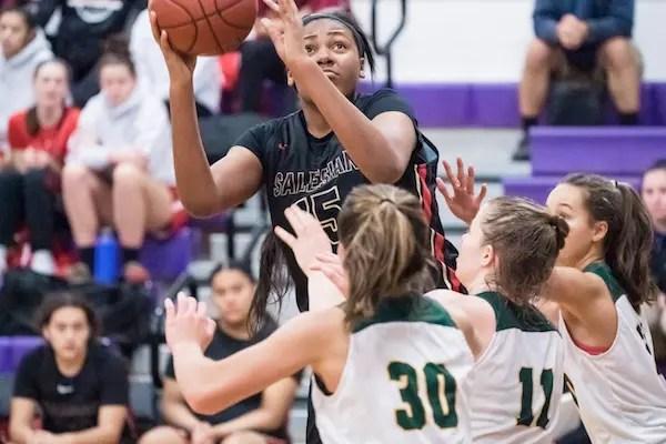 Angel Jackson, Salesian Girls Basketball