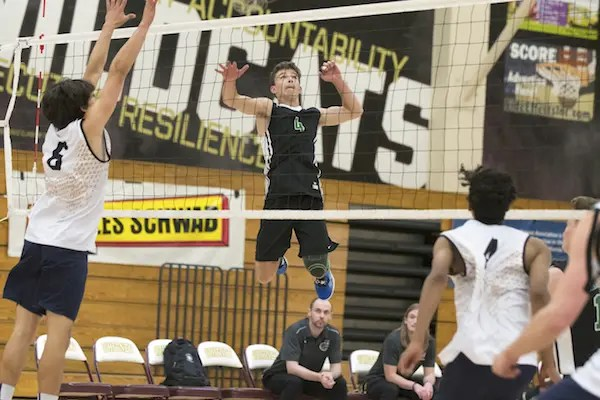 SJS Boys Volleyball, Granite Bay, Elk Grove