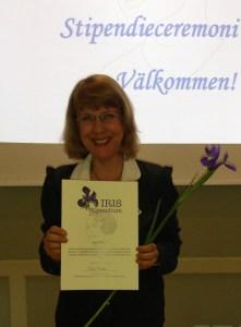 Iris stipendiet