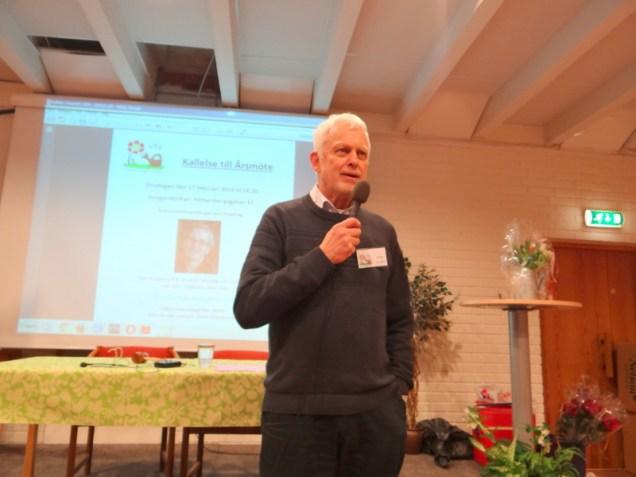Ordförande Stefan Boegård hälsade välkommen