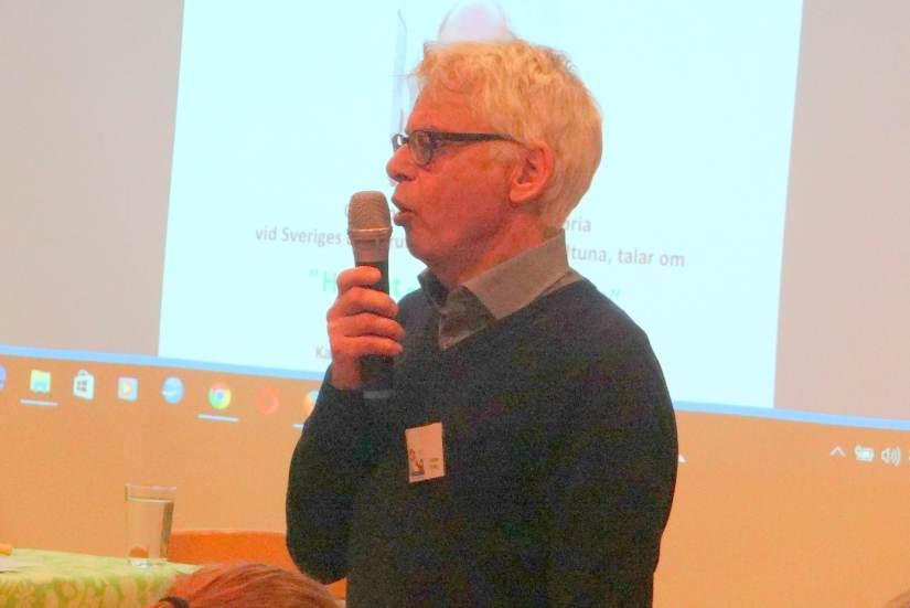 Gunnar Edling introducerar