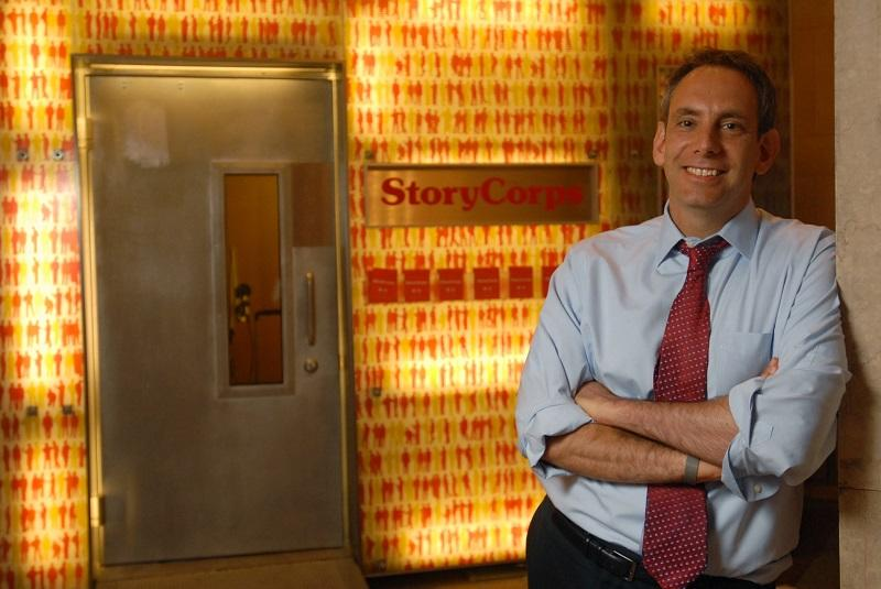 "StoryCorps founder Dave Isay shares stories from people who do what they love in ""Callings: The Purpose and Passion of Work."""