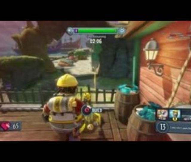 Plants Vs Zombies Garden Warfare Gardens Graveyards Gameplay And Commentary