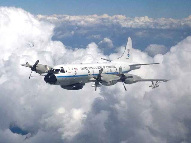 Noaa Hurricane Hunter Planes To Stay In Florida Wptv Com