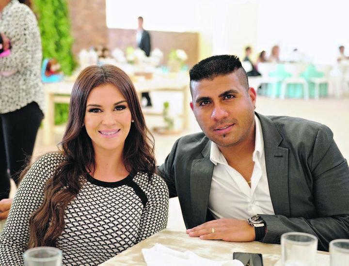 Romina y Daniel Ludueña.