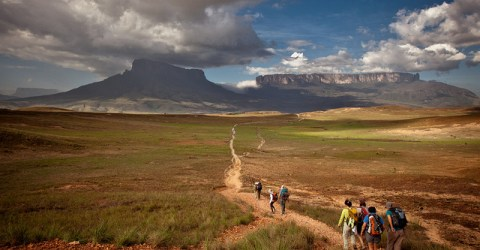 The Lost World Mount Roraima, A legend among the clouds