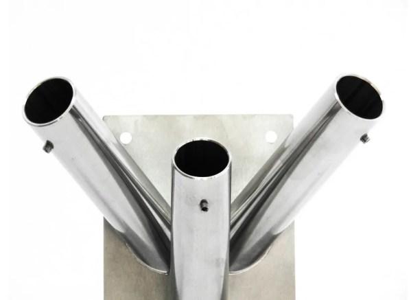 Uchwyt fasadowy 3 ramienny ze stali nierdzewnej