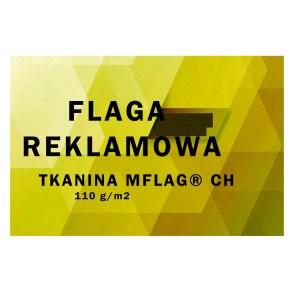 Flaga reklamowa tkanina 110 gr/m2