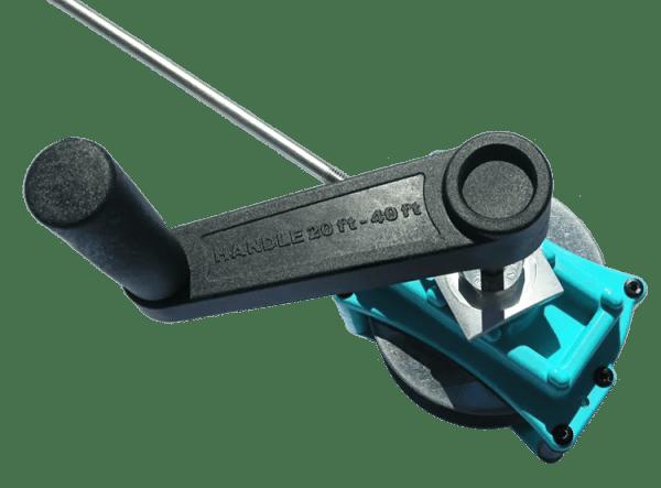Wciągarka + korba - mechanizm korbowy