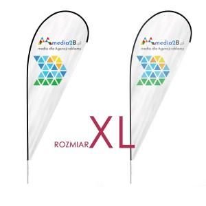 Winder XL flaga łezka + maszt flagowy