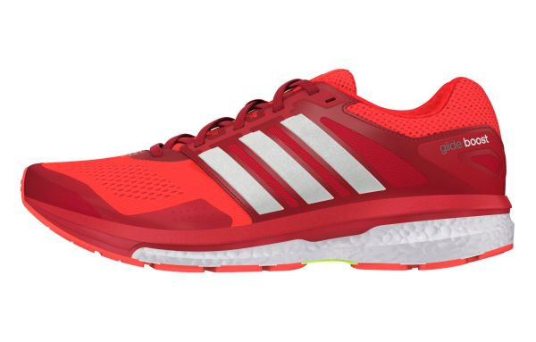adidas Supernova Glide Boost 7 Orange Rouge | Alltricks.fr