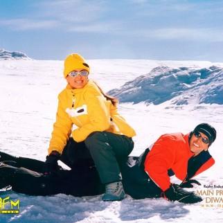 Image result for hrithik roshan kareena snow