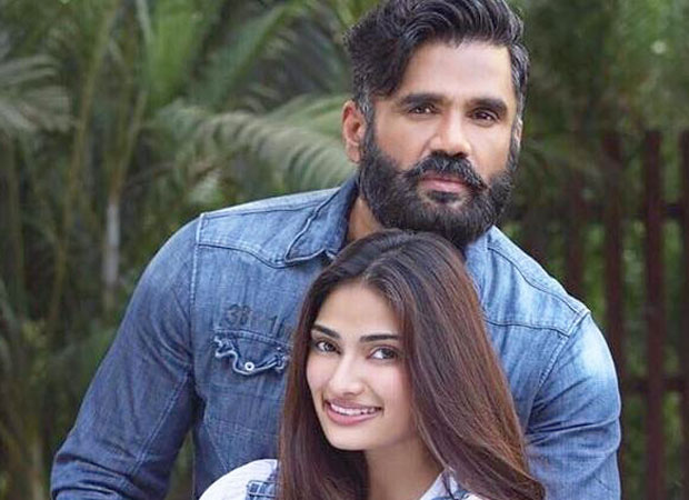Father - daughter duo Suniel Shetty and Athiya Shetty come together for this project