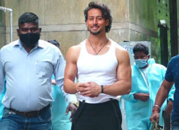 Tiger Shroff spotted at Hard Rock Cafe