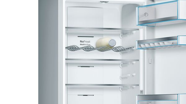 Serie | 8 Combină frigorifică independentă 203 x 60 cm Alb KGF39SW45 KGF39SW45-2