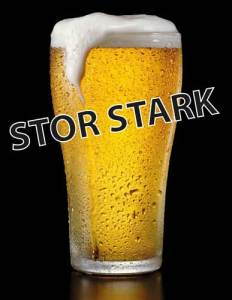 The most famous beer in Sweden. Stor Stark at Cajutan in Bangkok