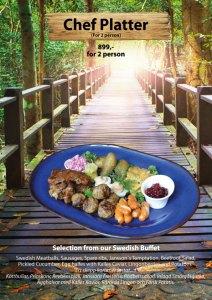 Svenskt smörgåsbord på Cajutan i Bangkok