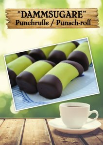 Punchrulle, dammsugare, svensk kaka på Cajutan i Bangkok