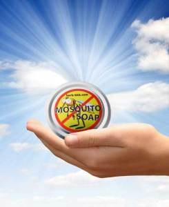 The mosquito soap is made from 100% natural ingredients. It can be used by adults as well as children of all ages. Also helps against dry skin, psoriasis, dengue fever and malaria.