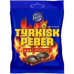 Turkisk peber at Cajutan food shop in Bangkok