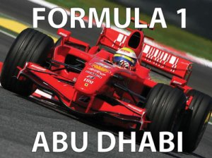 Formula 1 from Abu Dhabi at Cajutan in Bangkok