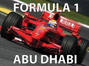 Formel 1 Abu Dhabi visar vi på Cajutan i Bangkok