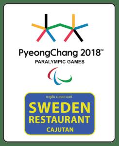 Vinter OS, Paralympic visar vi på Cajutan i Bangkok