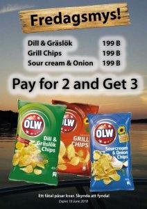 Rea på OLW Chips på Cajutan i Bangkok