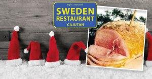 Swedish Christmas Ham at Cajutan in Bangkok