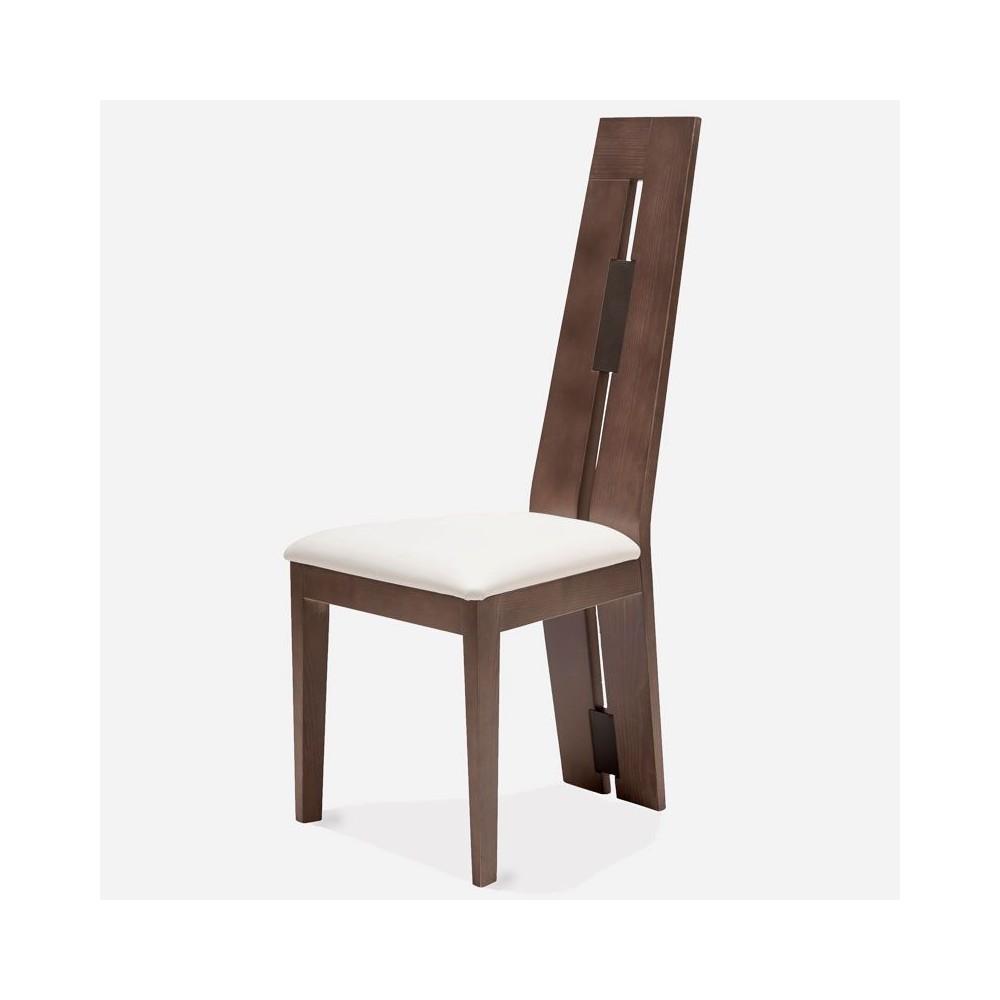 chaise moderne hetre massif