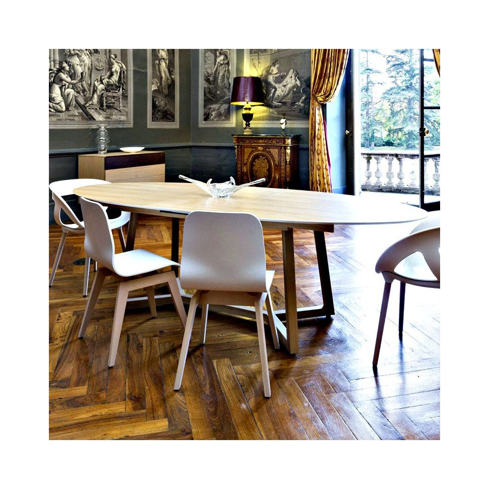 table ovale disco mark mobilier