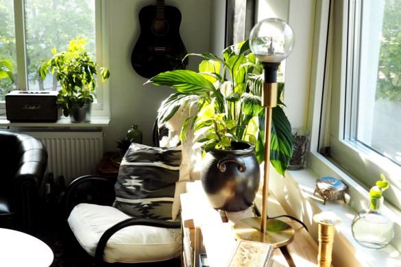 Hemma hos mig: DIY bokhylla, förvaring