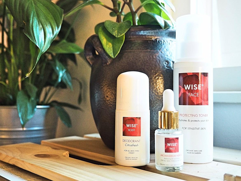 Recension: hudvård + deo från WISE Naturkosmetik