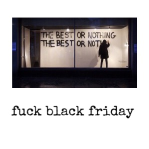 fuck black friday