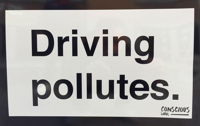 Frivillig konsumentupplysning: Driving Pollutes