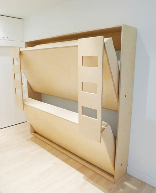 diy double bunk bed plans