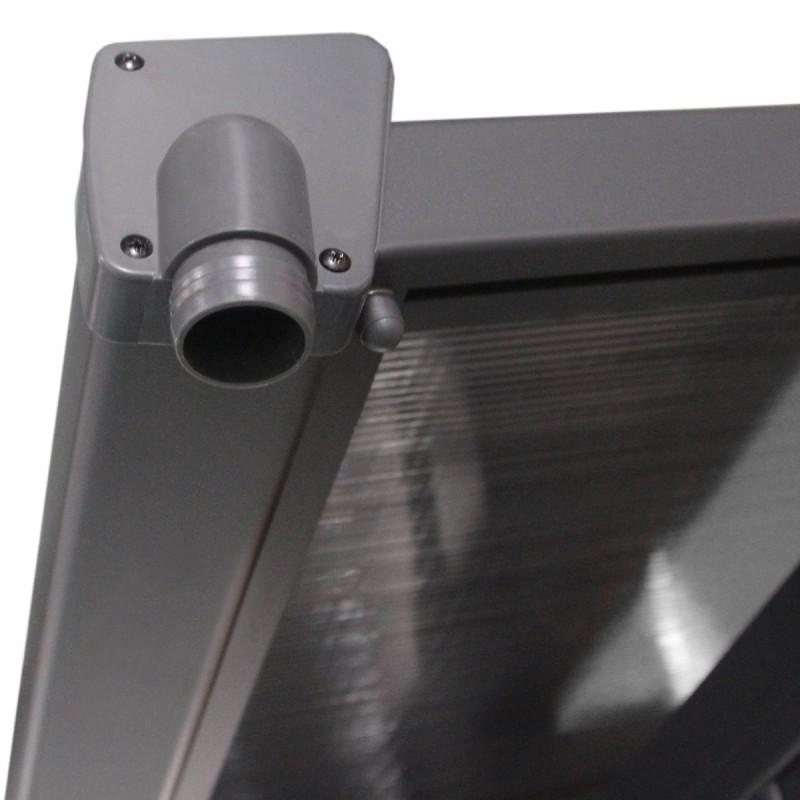 ajustable en aluminium 3 05x6 18m x metal