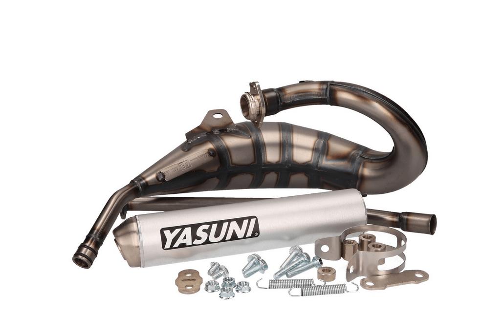 yasuni hm max exhaust for derbi senda r drd x treme x race and aprilia rx nm